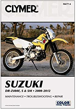 CD-ROM Suzuki DR-Z400 Motorcycle Service Repair Maintenance Shop Manual 2000-2015