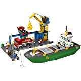 LEGO CITY 4645 Harbor Set Minifigs Cargo Ship Boat Crane Truck Building Toy New Factory Sealed