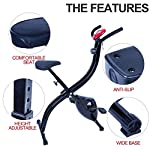 EVOLAND-Cyclette-da-Allenamento-Home-Trainer-Bicicletta-da-Fitness-S-Bike-Cyclette-Macchine-per-Training-Aerobico-Fitness-e-X-Bike-120-kg-capacita