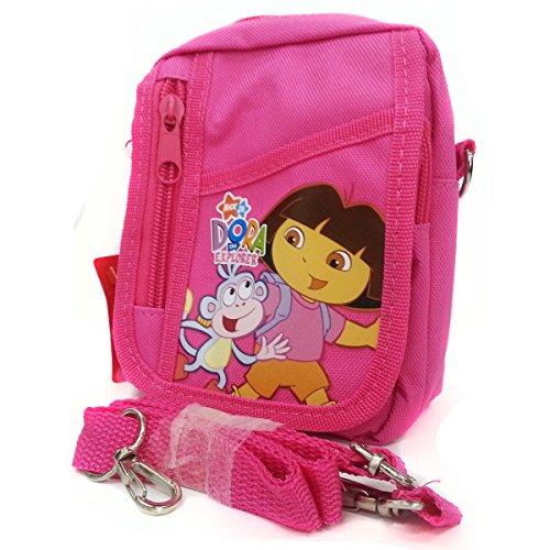 Nick Jr. Dora the Explorer & Boots String Bag & Mini Bag in Pink