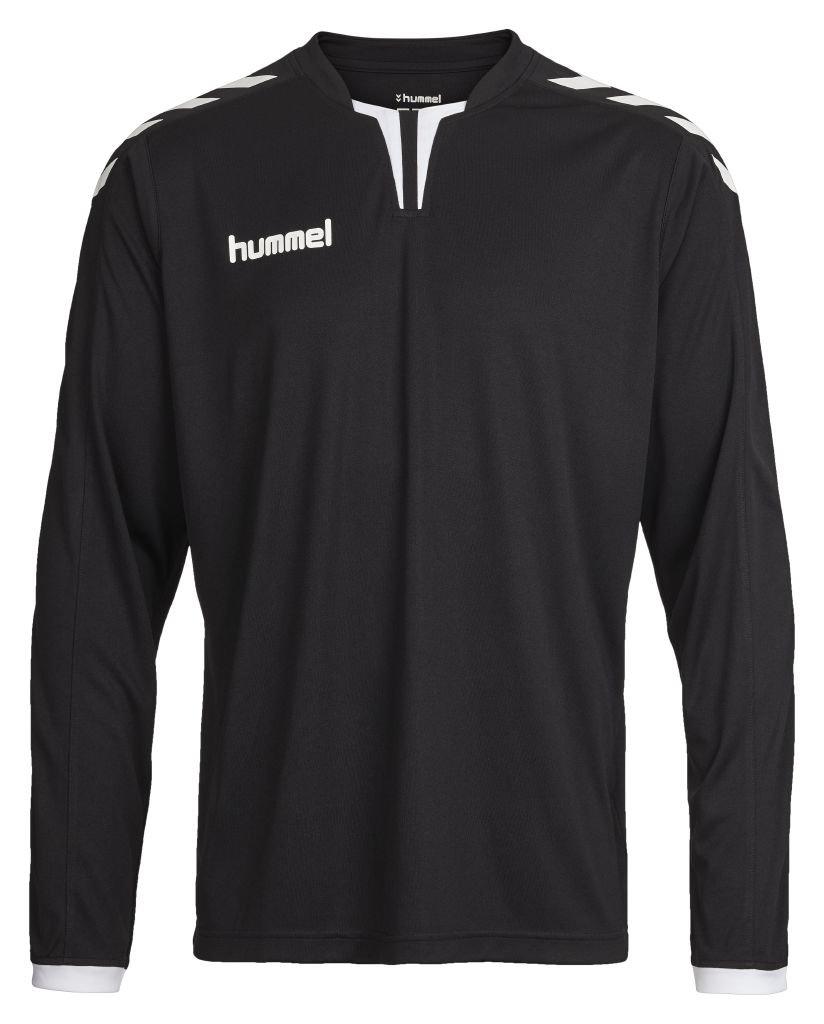 HummelメンズCore Long Sleeve Jersey B01A7W9MJK Medium|ブラック|ホワイト ブラック|ホワイト Medium, アドショップ 31c78f3e