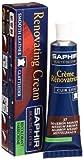 Saphir Renovating Cream, 25ml tube (Medium Brown)
