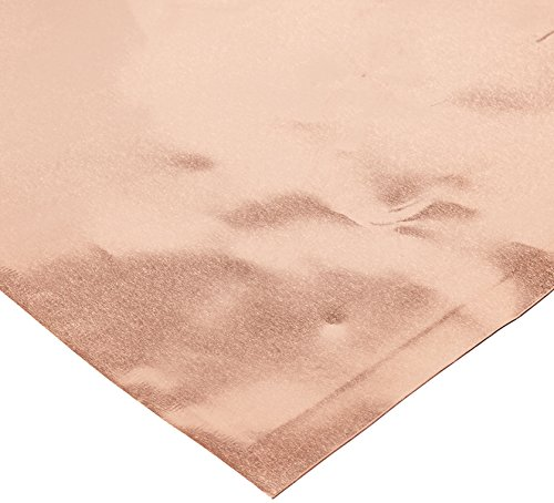 Ranger Vintaj Copper Foil Sheets, 6 by 6-Inch, 3 Per Package