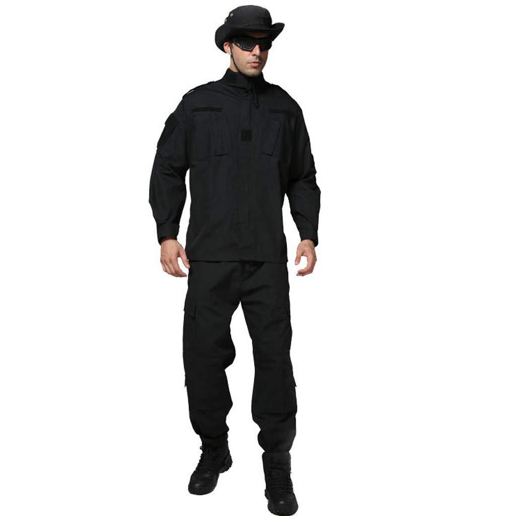 GRZP Herren-Tarnanzug, Jacke Slim Fit Hose Taktischer Anzug Militärisches Kleid Kampfanzug Outdoor Jagd Dschungel versteckt Sport Bergsteigen (größe : XS/165-170/60kg)