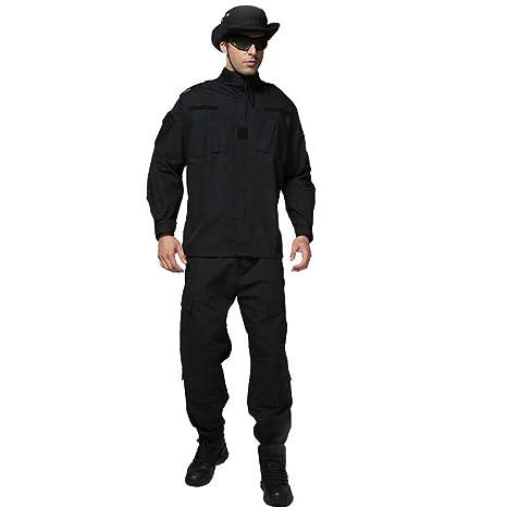 GRZP Traje de Camuflaje para Hombre, Chaqueta Chaqueta Slim Fit, Traje táctico, Traje