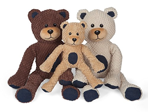 - fabdog Floppy Teddy Bear Squeaky Dog Toy (Large)