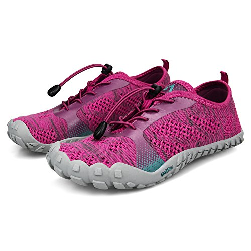 Athletic Shoes Breathable Hiking Troadlop Barefoot Quick Rose Women's Shoes Outdoor Drying Running q5vwrIwX