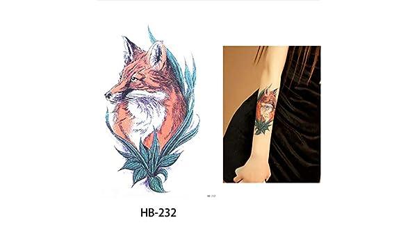 yyyDL Un poco brazo grande tatuaje temporal pegatina gorrión falso ...