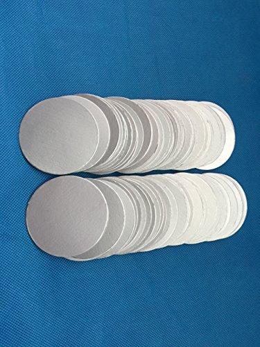 Uuni-WT HDPE bottle cap 55mm plactic laminated aluminum foil lid liners (5000PCS) by Bonny&T (Image #1)