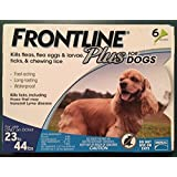 Frontline Plus for dogs 23-44 lbs 6 Doses