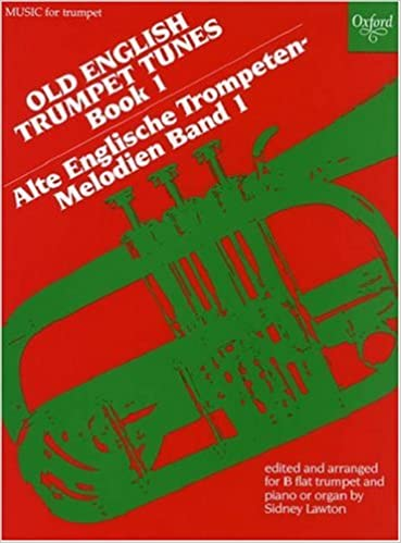Book Old English Trumpet Tunes: Book 1: Bk. 1