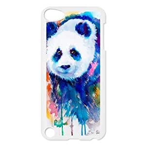 Custom Colorful Case for Ipod Touch 5, Panda Cover Case - HL-R655891