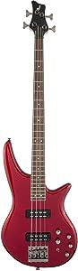 Jackson JS Series Spectra Bass JS3 Bass Guitar (Metallic Red)