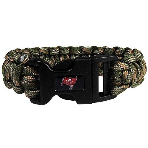 NFL Tampa Bay Buccaneers Camo Survivor Bracelet, Green
