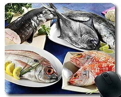 Amazon com : Mouse pad Large, beta Fish Theme of Full of