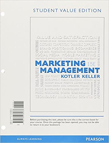 principles of marketing 15th edition torrent