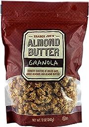 Trader Joe's Almond Butter Granola, Crunchy, 12 ounces