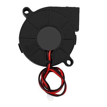 Hongzer Ventilador de enfriamiento para Impresora 3D, DC 12 / 24V ...