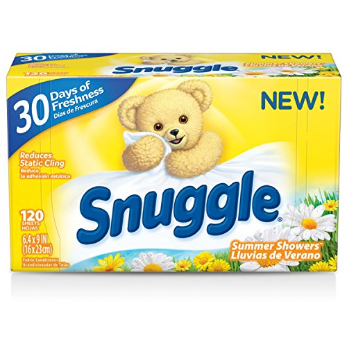 ner Dryer Sheets, Summer Showers, 120 Count ()