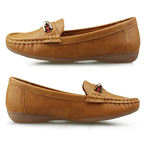 Driving 1954 Hawkwell Loafer on Slip Comfort brown Shoes Women's A4S4qgwX