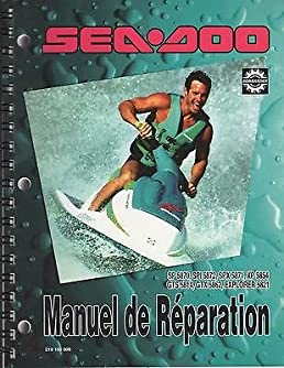 1994 sea doo service manual sp spi spx xp gts gtx explorer rh amazon com 1995 Sea-Doo GTX 1994 sea doo xp service manual