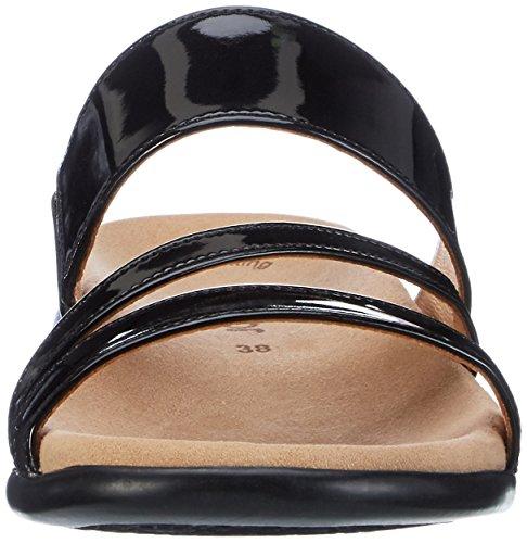 Gabor Shoes Fashion, Mules para Mujer Negro (schwarz 77)