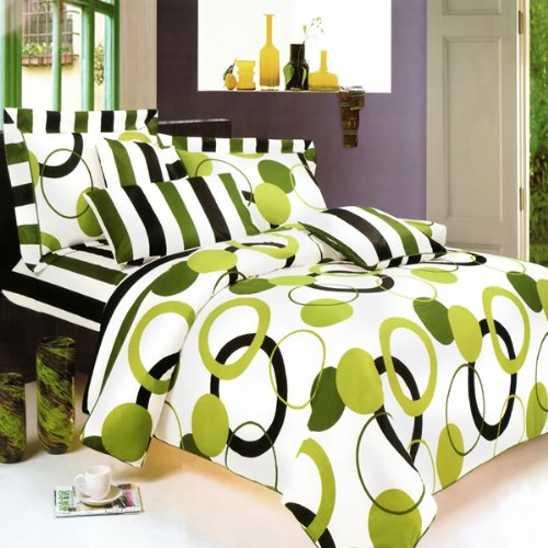 Lime green comforter and bedding sets for Lime green bedroom furniture