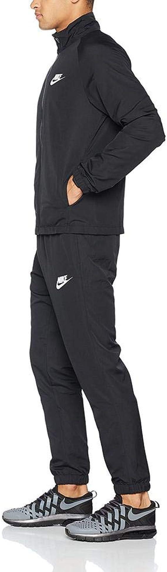 Nike Sportswear Woven Basic Chándal, Hombre: Amazon.es: Ropa y ...