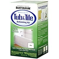 32OZ WHT Tub/Tile Kit (Pack of 2) by Rust-Oleum