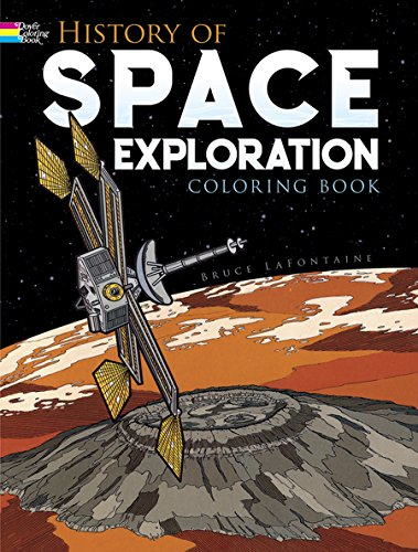 History of Space Exploration Coloring Book (Dover History Coloring Book)