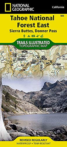 (Tahoe National Forest East [Sierra Buttes, Donner Pass] (National Geographic Trails Illustrated Map) )