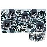 Silver Legacy - Legend Black & Silver Party Assortment for 100 Pkg/1