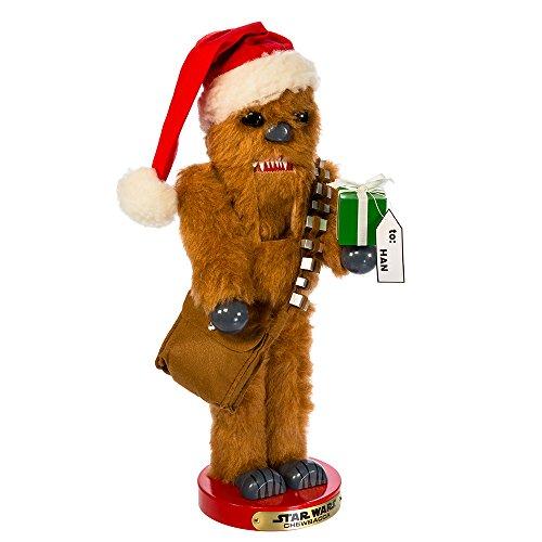 Kurt Adler Star Wars Chewbacca Steinbach Nutcracker Christmas Décor, STD, Multicolored from Kurt Adler