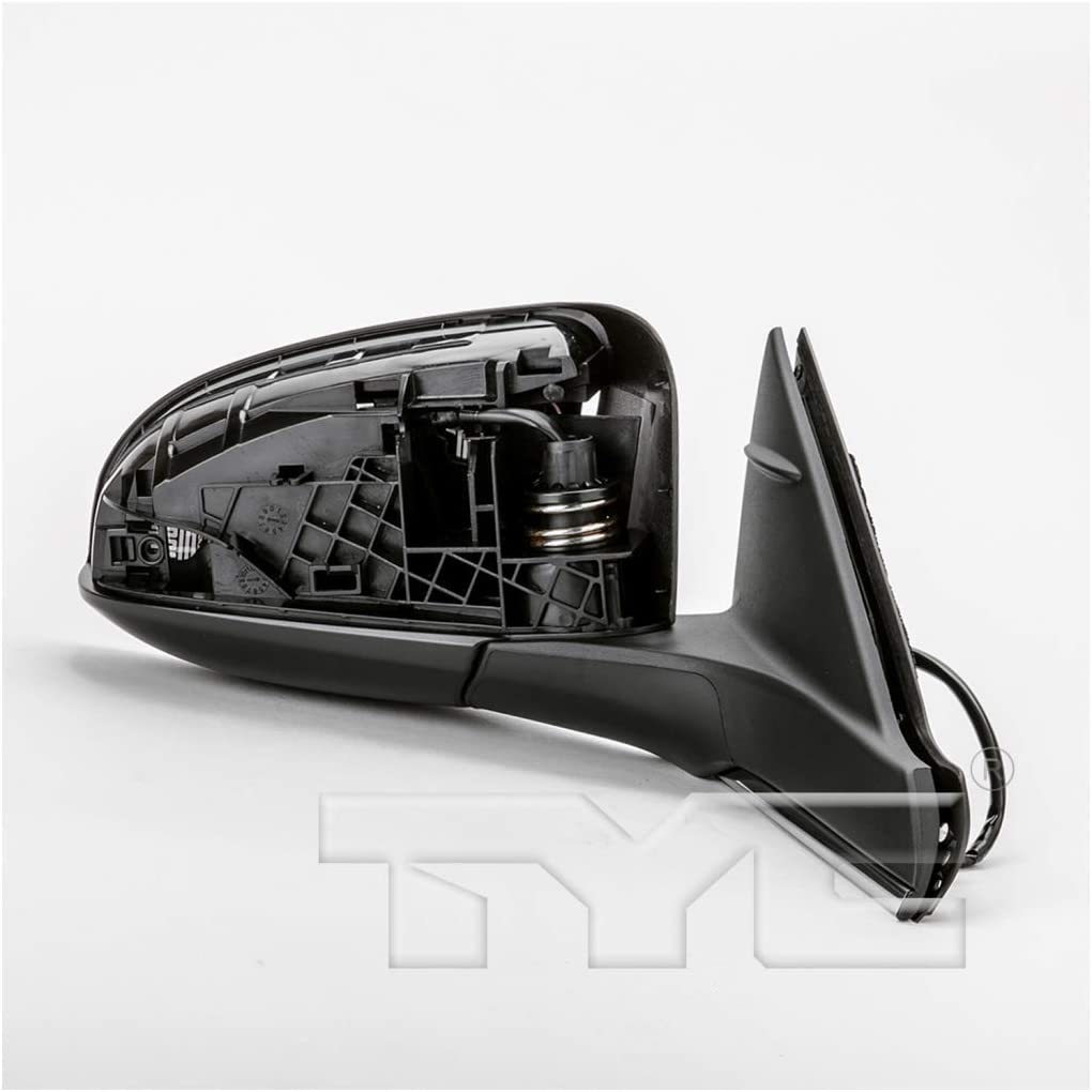 Passenger Side KarParts360: For 2015 Toyota Camry Door Mirror - Heated Unpainted Power