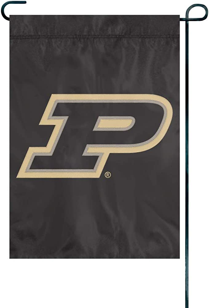 Party Animal NCAA Purdue Boilermakers Unisex Purdue Boilermakers Premium Garden Flag - Window Flag - Indoor/Outdoor Flag, Team Color, 18