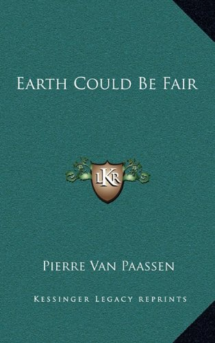 Download Earth Could Be Fair ebook
