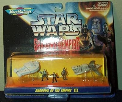 Star Wars Micro Machines Shadows of the Empire III Collection