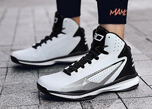White Women's Basketball Lace Performance JiYe up Fashion Shoes Men's Sports Sneakers by Black SPtnppB