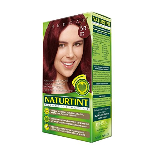 Naturtint Hair Colour 5R Fire Red (Pack of 6) - 火災赤5R Naturtint髪の色 (x6) [並行輸入品] B01N0GORXK