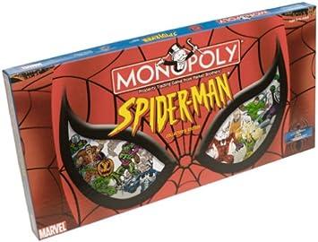 Spider-Man Monopoly by USAopoly: Amazon.es: Juguetes y juegos