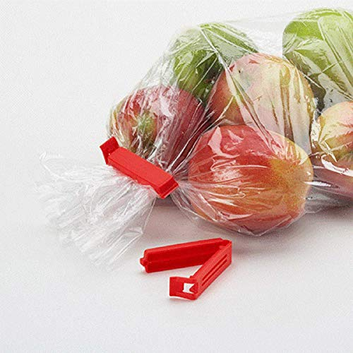 Linden Sweden Twixit! Bag Clips - Set of 20 - Keep Food Fresh, Prevent Spillage - Great for Storage and Organization - Microwave, Freezer and Dishwasher-Safe - BPA-Free