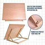 US Art Supply Extra Large Adjustable Wood Artist