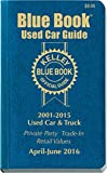 Kelley Blue Book Consumer Guide Used Card
