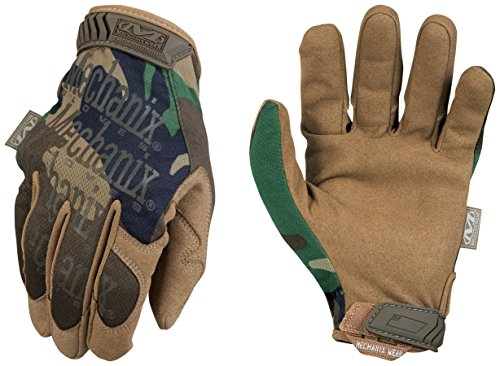 - Mechanix Wear - Original Woodland Camo Tactical Gloves (Large, Camouflage)