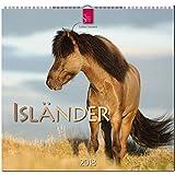 ISLÄNDER: Original Stürtz-Kalender 2018 - Mittelformat-Kalender 33 x 31 cm