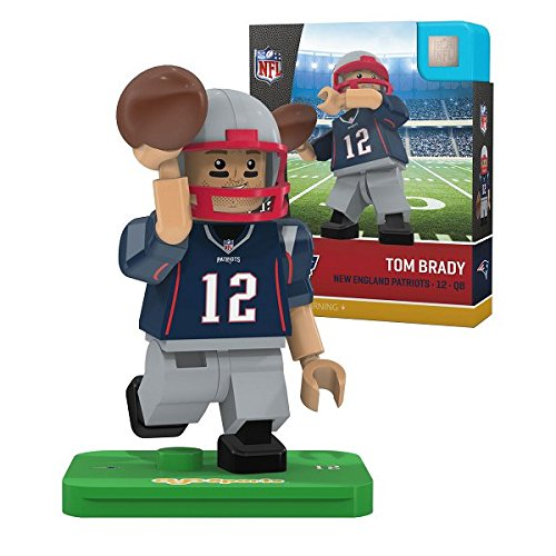NFL New England Patriots Gen4 Limited Edition Tom Brady Mini Figure, Small, White
