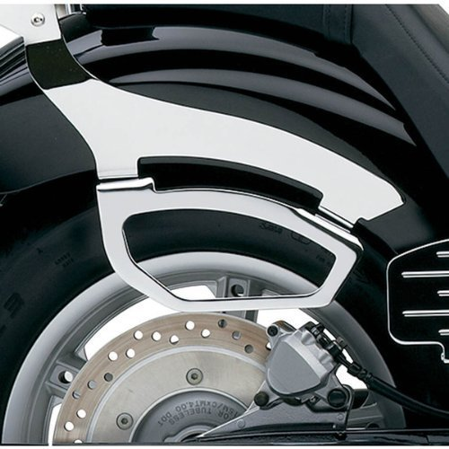 Cobra Chromed Saddlebag Supports for Honda 2010-13 VT1300CR Stateline, VT1300CRA Stateline ABS - ()