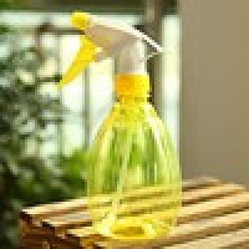 Tuscom Plastic Spray Bottle for Flowers Plants With Water,Insecticide,Pesticide (Yellow) Plastic Insecticide