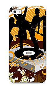 Jocelynn Trent's Shop New Style Durable Protector Case Cover With Dancing Dj Widescreen Hot Design For Iphone 5c 5525980K30378348