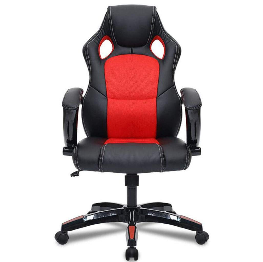 Office Chair Desk Leather Gaming Chair Ergonomic Adjustable Racing Chair
